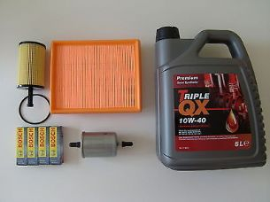PEUGEOT 206, CITROEN XSARA, 2000-2003, SERVICE KIT, OIL INCLUDED